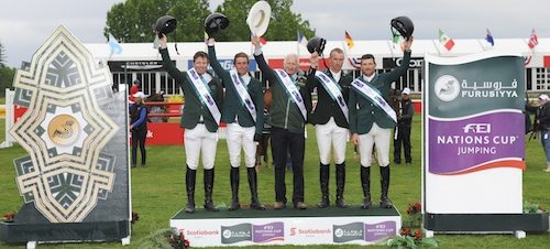 EEF :News :IRELAND WINS $125,000 FURUSIYYA FEI NATIONS CUP™ PRESENTED BY SCOTIABANK AT SPRUCE MEADOWS