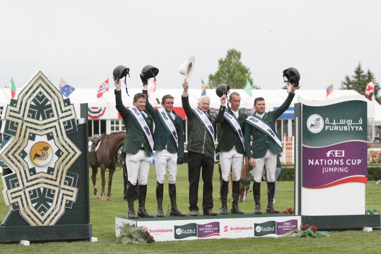EEF :News :IRISH MAKE IT TWO-IN-A-ROW WITH FURUSIYYA VICTORY AT SPRUCE MEADOWS